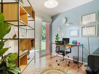 Рабочий кабинет в скандинавском стиле от Klover Скандинавский