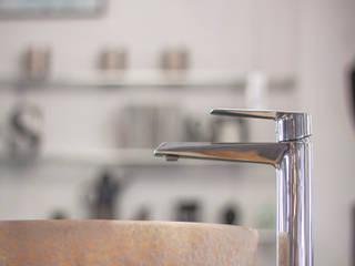 Umywalki misa - Okrągłe umywalki z kamienia na blat do łazienki: styl , w kategorii  zaprojektowany przez Lux4home™