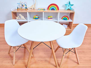 Minihaus Kids Nursery/kid's roomDesks & chairs Plastik White