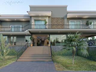 Remod. Casa LDZ de AXS Arquitectos Mediterráneo