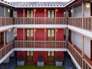 by FRANCO CACERES / Arquitectos & Asociados Колоніальний