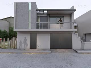Remodelación Casa A-G de AXS Arquitectos Moderno