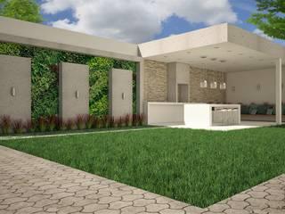 Proyecto CRZ Balcones y terrazas minimalistas de QBO ARQUITECTURA Minimalista