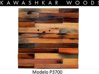 PANEL P3700 - Modelo Lingue Paredes y pisos de estilo rústico de Kawashkar Woods Rústico
