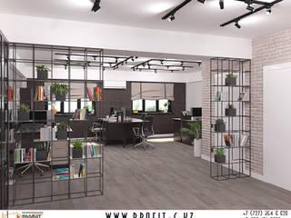 Дизайн-проект офиса в стиле лофт: Коммерческие помещения в . Автор – ТОО 'ПРОФИТ',