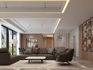 Living room by VH INTERIOR DESIGN, Modern