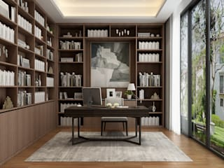 Modern study/office by VH INTERIOR DESIGN Modern