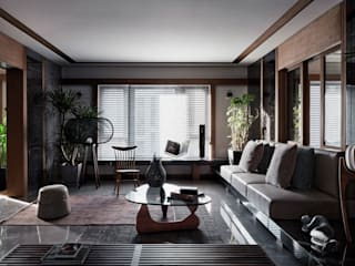 LIVING ROOM:  Living room by ARCHISTRY design&research office