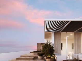 Projeto de uma moradia unifamiliar em Alenquer,Portugal Casas modernas por Nuno Ladeiro, Arquitetura e Design Moderno