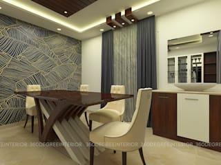 Duplex villa - Turnkey Interior Modern dining room by 360 Degree Interior Modern