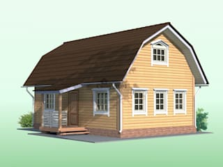 Внешний вид фасада:  в . Автор – Свой Дом