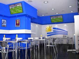 Diseño de Resto Bar: Locales gastronómicos de estilo  de Povarchik Studios Barcelona