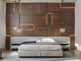Bed room Interior:   by unique interior