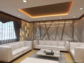 living room:   by unique interior