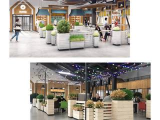 Озеленение Торгового Центра от Планета Флористики Классический