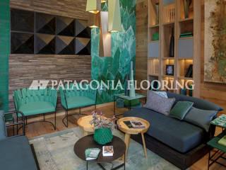 Estar intimo: Livings de estilo  por PATAGONIA FLOORING