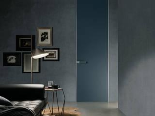 Rimadesio Moon deur kamerhoog en kozijnloos:  Glazen deuren door Noctum, Modern