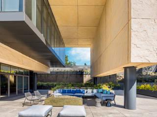 : Casas de estilo  por Alex Fernandez Fotografía