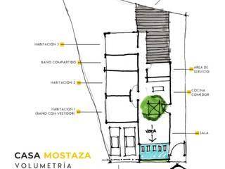 CASA MOSTAZA Casas eclécticas de ISMOS ARQUITECTOS Ecléctico