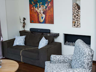 Sala: Salas / recibidores de estilo  por Azul