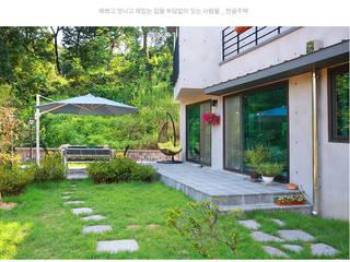 [경기 의왕] 너무 잘 지어서 '샘나는 집' 모던스타일 주택 by 한글주택(주) 모던