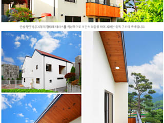 [경기도 양주] 중목구조, 듀플렉스주택 by 한글주택(주) 클래식