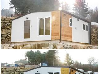 공간제작소(주) Modern conservatory Stone Brown