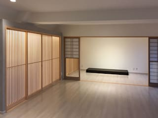 東京デザインパーティー|照明デザイン 特注照明器具 Asiatische Wohnzimmer