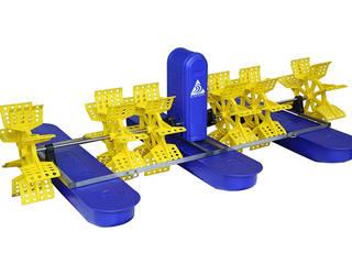 Two-Impeller paddle wheel aerator:  Garden Pond by Taizhou Jinhu Mechanical & Electrical Co. LTD