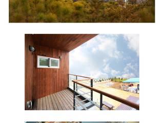 Scandinavian style houses by 공간제작소(주) Scandinavian