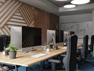Дизайн интерьера Киев|tishchenko.com.uaが手掛けたオフィスビル,