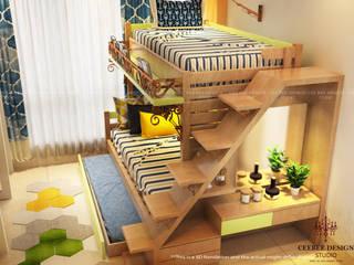 3 BHK Apartment of Mr Abhishek Gupta Kolkata: classic  by Cee Bee Design Studio,Classic