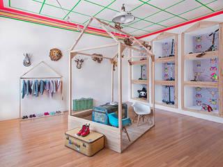 Decoración interior de espacios y salas en Madrid Espacios comerciales de estilo ecléctico de Guille Garcia-Hoz, interiorismo y reformas en Madrid Ecléctico