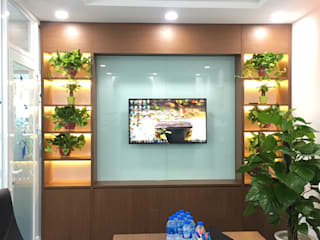 VAN NAM FURNITURE & INTERIOR DECORATION CO., LTD. Ruang Studi/Kantor Modern