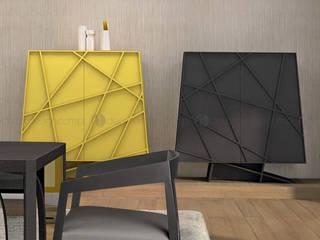 Decordesign Interiores Dining roomAccessories & decoration Chipboard Yellow