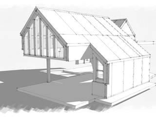 Houten huis door Building With Frames