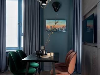 Salones de estilo moderno de Дизайн бюро Татьяны Алениной Moderno