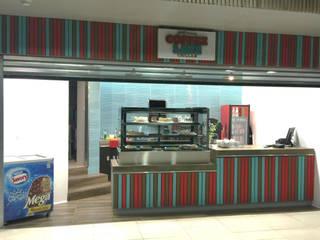 Café - Restaurant Coffe Late de Constructora ARCOX SpA. Moderno