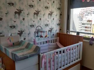 Habitacion infantil de G.S interiores Escandinavo