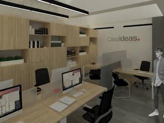 Estudios y despachos de estilo moderno de Escarra arquitectos y asociados SAS Moderno
