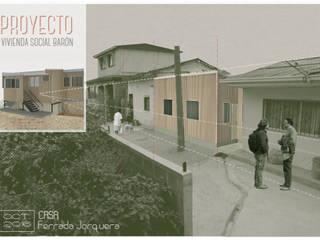 Casas julio Verne Casas estilo moderno: ideas, arquitectura e imágenes de Materia prima arquitectos Moderno