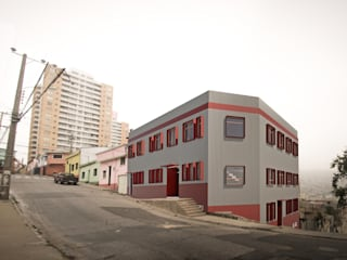Templo Willis Hoover Casas estilo moderno: ideas, arquitectura e imágenes de Materia prima arquitectos Moderno