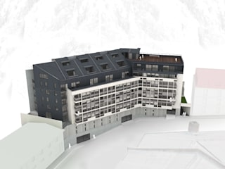 Edificio Residencial Francia Materia prima arquitectos Viviendas colectivas