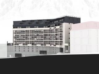 Edificio Residencial Francia de Materia prima arquitectos Moderno