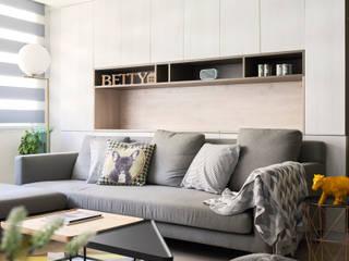 耀昀創意設計有限公司/Alfonso Ideas Scandinavian walls & floors