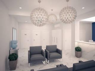 холл: Больницы в . Автор – TiM interior design