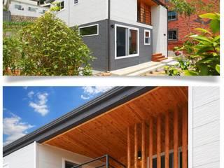 공간제작소(주) Wooden houses White
