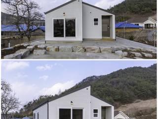 공간제작소(주) Wooden houses Ceramic White