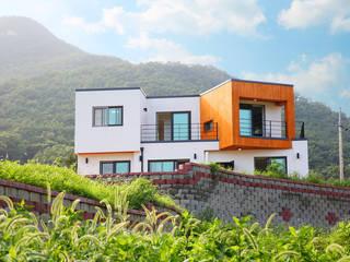 [인천 강화] 고급전원주택을 합리적으로 지은 주택 by 한글주택(주) 모던