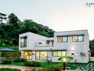 Single family home by 한글주택(주)